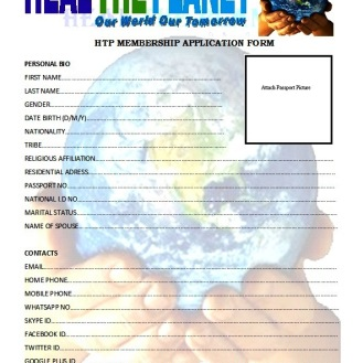 HTP MEMBERSHIP APPLICATION FORM-FORM A