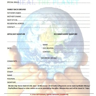 HTP MEMBERSHIP APPLICATION FORM-FORM B