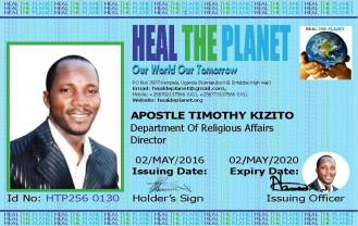 HTP Apostle Timothy